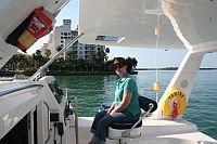 Karen sailing