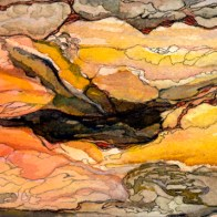 Venus Canyon painting