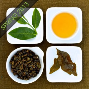 The four states of Dong Ding Oolong Tea, Lot 213