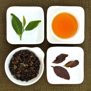 The four states of Organic GABA Oolong Tea