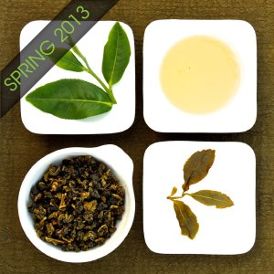 The four states of Organic Four seasons Oolong Tea, Lot 212