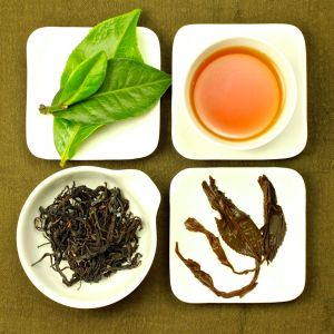 The four states of Premium Sun Moon Lake Assam Black Tea, Lot 154