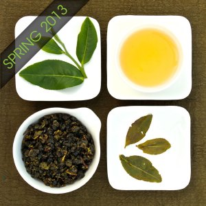 The four states of Baguashan Jade Oolong Tea, Lot 211
