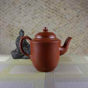 Tall 280 ml Yixing Teapot Side View