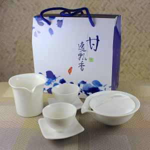 New Gaiwan Tasting Set for 2 with Tasting Cups