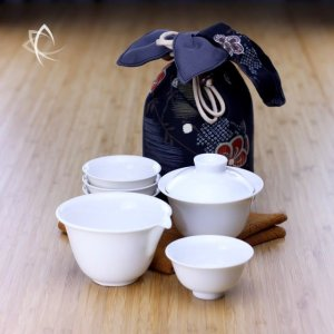 Stackable Gaiwan Tea Travel Set Alternative View