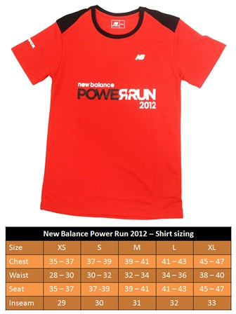NB Power Run Event Shirt