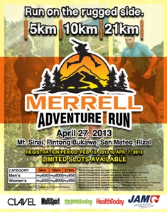 Merrell Adventure Run 2013 Race Results