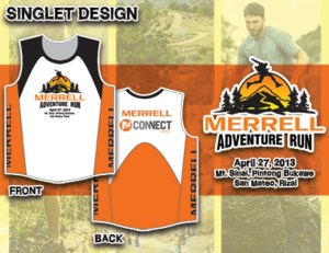 Merrell Adventure Run 2013 Singlet