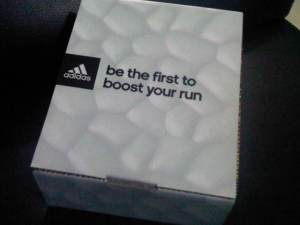 adidas running shoes boost box