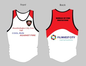 Cool Run Against Fire 2013 Singlet