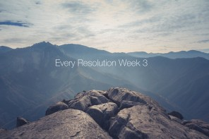 Every New Year's Resolution Week 3