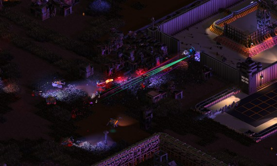 Brigador, an isometric mech game available on Steam