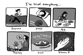 This Webcomic Is Exploring The Choice to Start Antidepressants, and It's Great