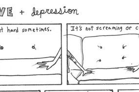 This Comic Gets to the Heart of Love When You're Depressed