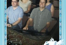 Frozen Ever After on ride photo