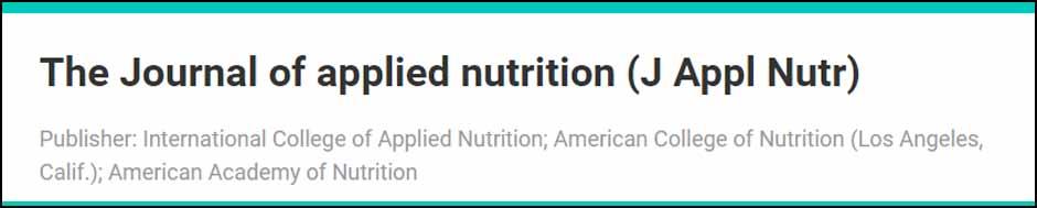 featured-journalappliednutrition