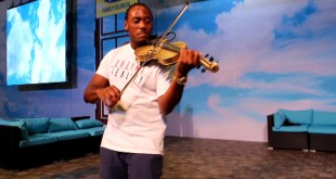 T-Ray The Violinist rocks The Ford stage with Timeless Brands at Essence Music Fest 2016