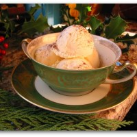 Eggnog Ice Cream: The Easiest Recipe Ever