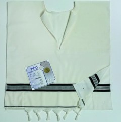 Wool Tallit Katan with or without tzitzits