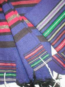 Gabrieli Joseph's Coat Tallit in Blue