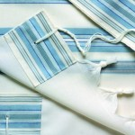Gvanim Tallit Blue