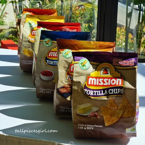 Mission Tortilla Chips - Healthier snacks for #The21DayMission!