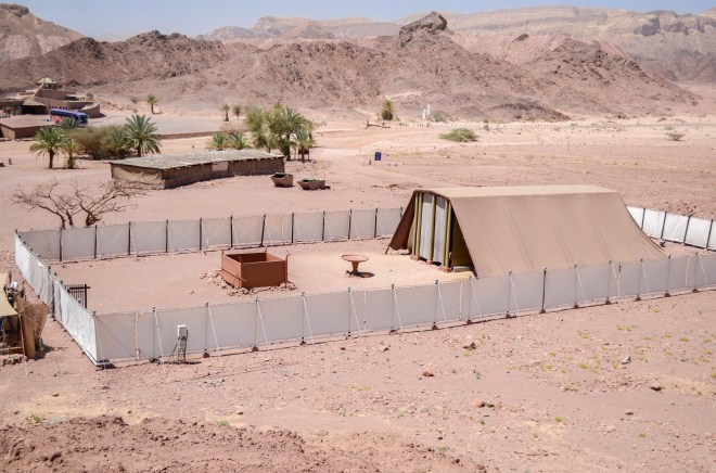 This life-size replica of the biblical tabernacle brings new life to the stories of the Israelite wanderings.