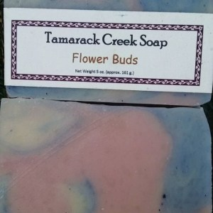 Flower Buds Scented Soap Bar
