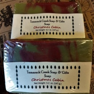 Christmas Cabin Scented Soap Bar