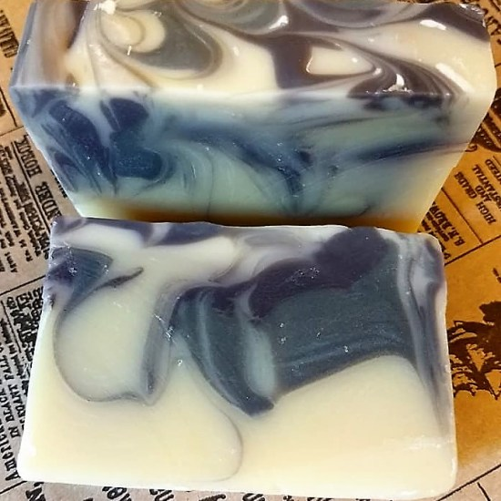 Dark Patchouli Scented Soap Bar