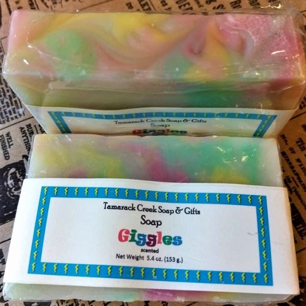 Giggles Scented Soap Bar