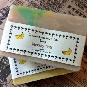 Monkey Farts Scented Soap Bar