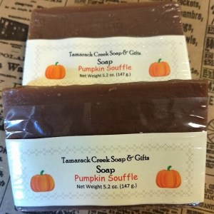 Pumpkin Souffle Scented Soap Bar