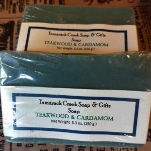 Teakwood & Cardamom Scented Soap Bar