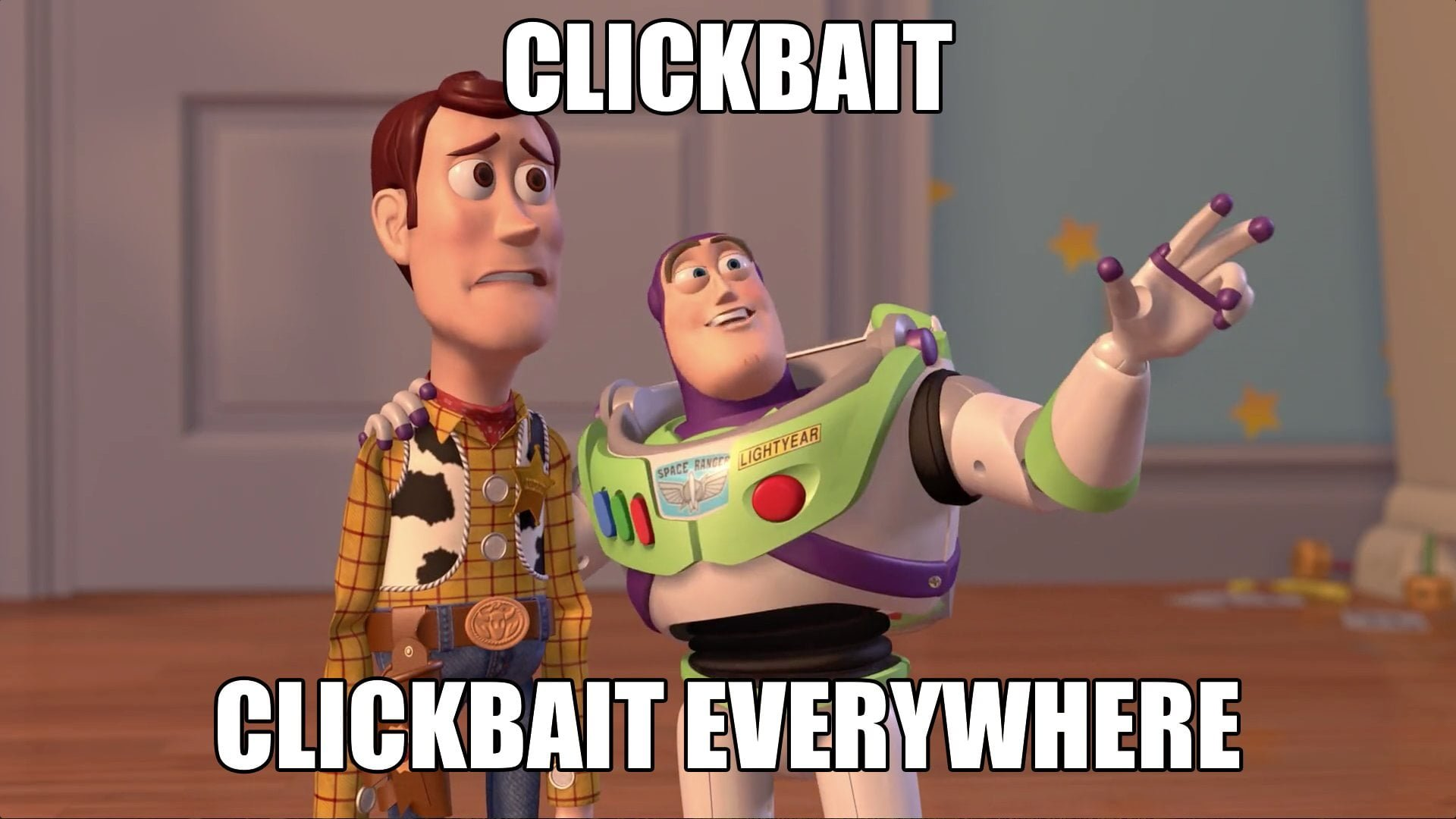 Clickbait everywhere