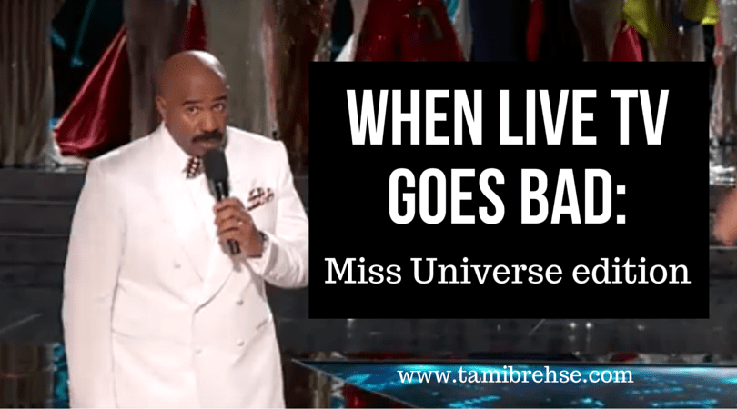 The Miss Universe Flub: How Steve Harvey Got It Right