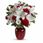 Be My Love Bouquet with Red Roses-T128-2A