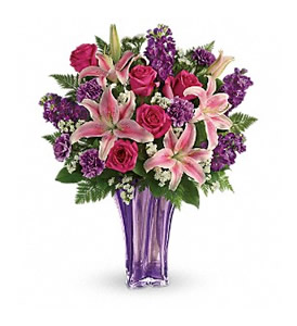Luxurious Lavender Bouquet-tev49-1a