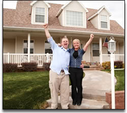 image of happy homeowners