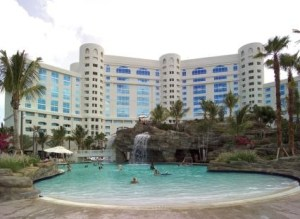 picture of hard rock pool area