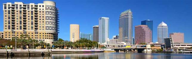 image of waterfront condos in downtown tampa
