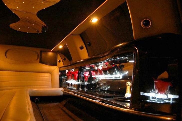 interior stretch limo