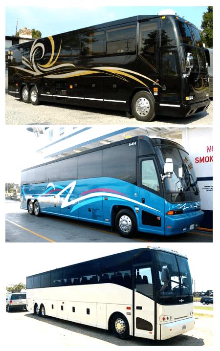 Charter Bus Tampa FL