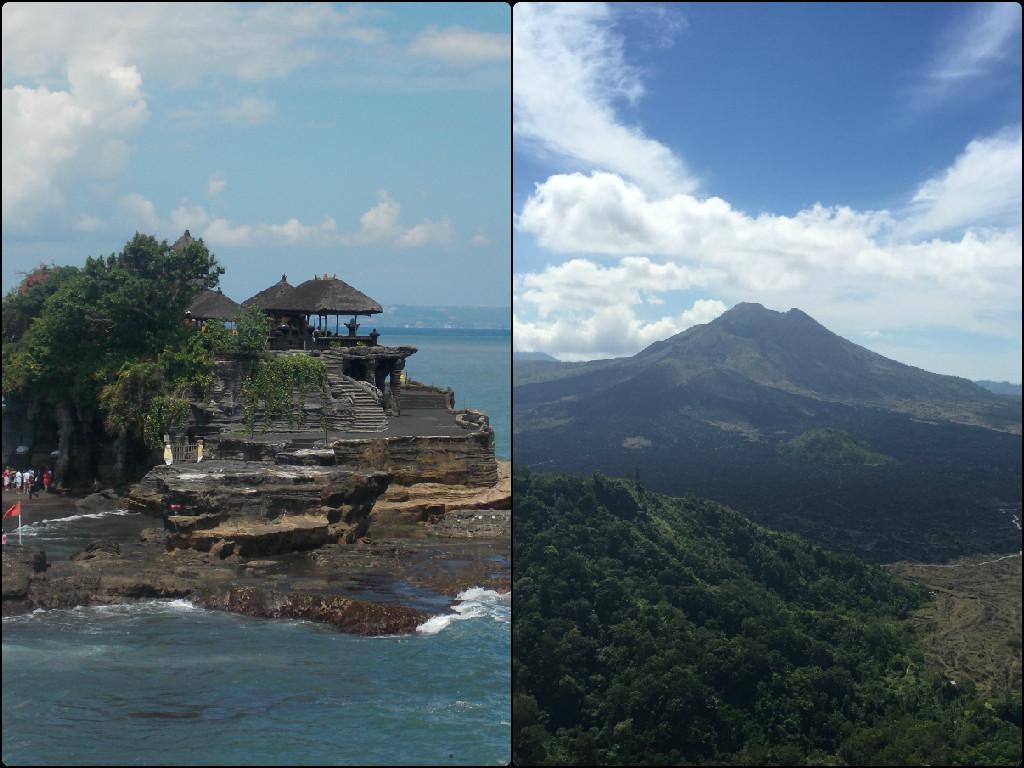 Tanah Lot and Kintamani - The other Bali