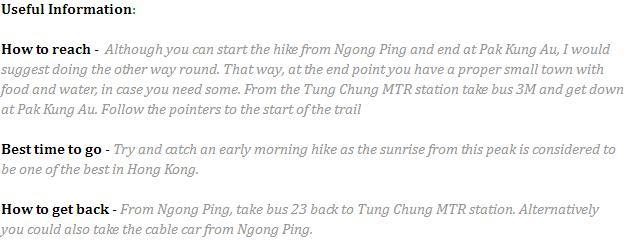 Lantau Info