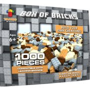 1000 Pieces Crafting Wall Building Bricks