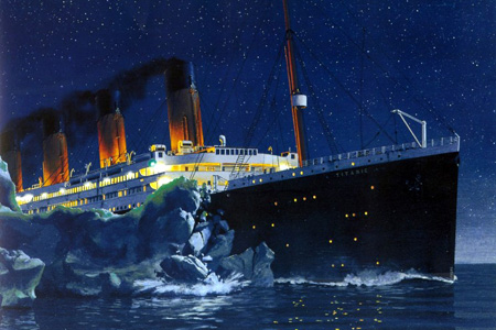 Titanic example of destructive pride