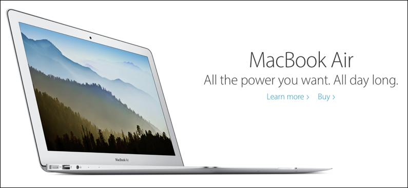 Apple does an excellent job of focusing on the customer in this ad.