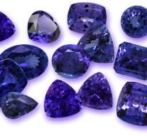 Tanzanite Grading System and Color Scale